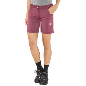Mammut Massone Shorts Women merlot melange